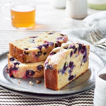 blueberry lemon ricotta pound cake